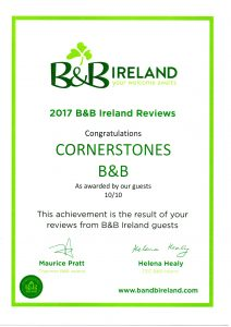B&B Ireland cert 2017